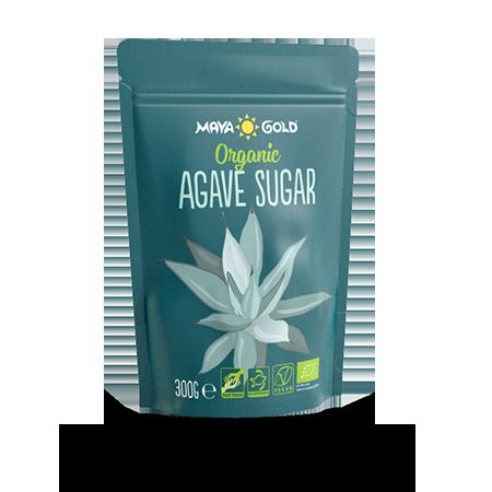 Maya gold agave sugar product packaging