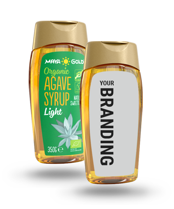 Maya Gold Your Branding - Agave syrup