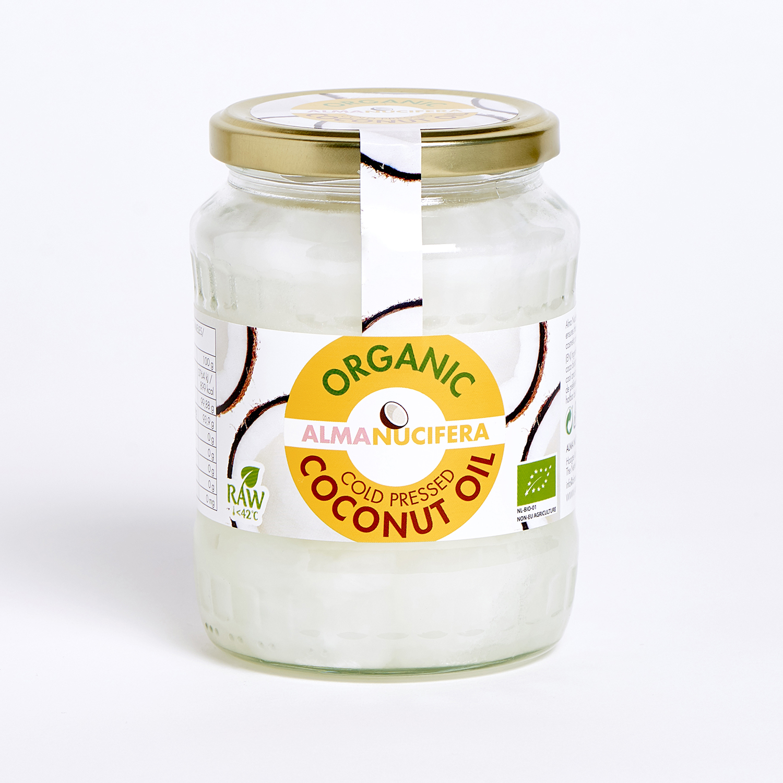 AlmaNucifera coconut oil cold pressed