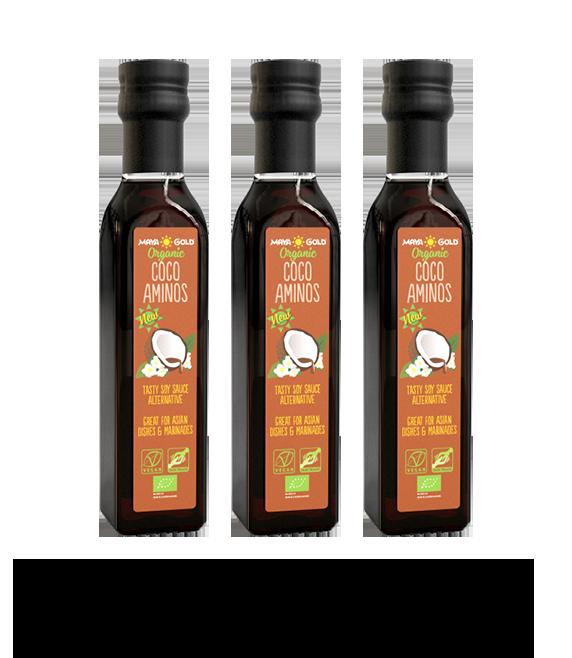 Coco aminos bottles