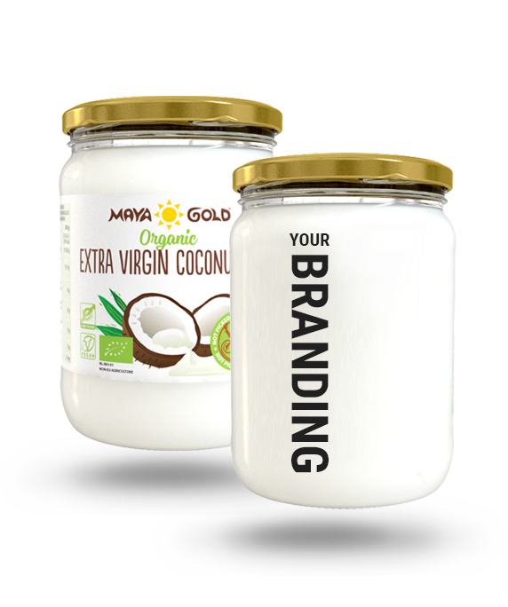 Maya Gold Your Branding - Extra virgin coconut oil