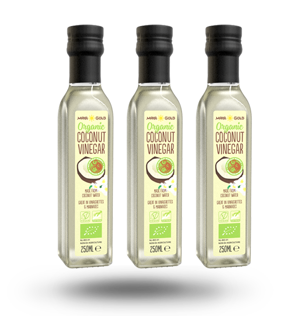 Coconut Vinegar bottles